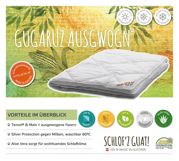 Vitalschlaf® GmbH - Gugaruz Ausgwogn - Naturfaser. Winter: Sommer - Single. Maßgefertige Schlafsysteme und Bettwaren von Vitalschlaf: Ihre individuelle & vitale Schlafwelt aus Österreich.