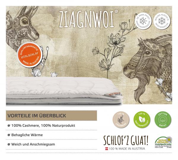 Vitalschlaf® GmbH - Ziagnwoi - Naturhaar. Winter: Passt immer - Double. Maßgefertige Schlafsysteme und Bettwaren von Vitalschlaf: Ihre individuelle & vitale Schlafwelt aus Österreich.