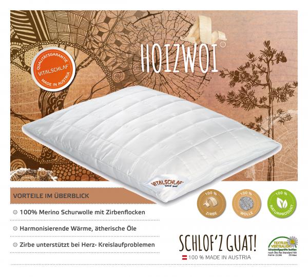 Vitalschlaf® GmbH - Hoizwoi - Naturhaar. Reißverschluß: Ja. Maßgefertige Schlafsysteme und Bettwaren von Vitalschlaf: Ihre individuelle & vitale Schlafwelt aus Österreich.