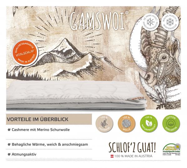 Vitalschlaf® GmbH - Gamswoi - Naturhaar. Passt immer: Passt immer - Single. Maßgefertige Schlafsysteme und Bettwaren von Vitalschlaf: Ihre individuelle & vitale Schlafwelt aus Österreich.