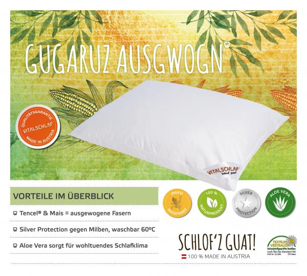 Vitalschlaf® GmbH - Gugaruz Ausgwogn - Naturfaser. Reißverschluß: Ja. Maßgefertige Schlafsysteme und Bettwaren von Vitalschlaf: Ihre individuelle & vitale Schlafwelt aus Österreich.