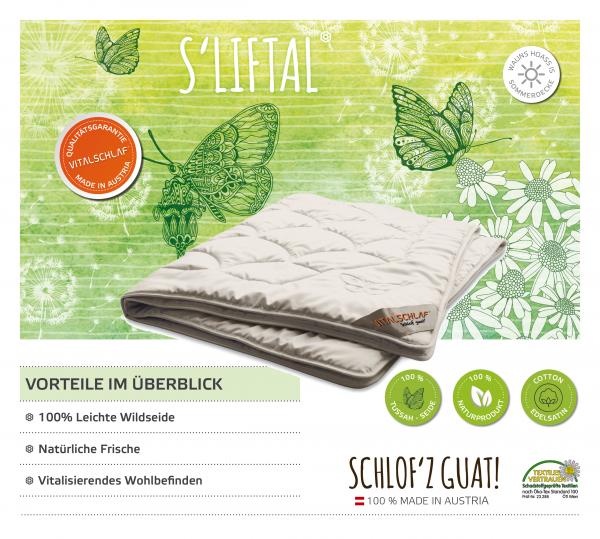 Vitalschlaf® GmbH - s'Liftal - Naturfaser. Passt immer: Sommer - Single. Maßgefertige Schlafsysteme und Bettwaren von Vitalschlaf: Ihre individuelle & vitale Schlafwelt aus Österreich.