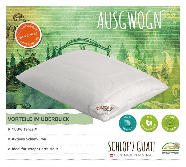 Vitalschlaf® GmbH - Ausgwogn - Naturfaser. Reißverschluß: Ja. Maßgefertige Schlafsysteme und Bettwaren von Vitalschlaf: Ihre individuelle & vitale Schlafwelt aus Österreich.