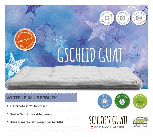 Vitalschlaf® GmbH - Gscheid Guat - Funktionsfaser. Passt immer: Sommer - Single. Maßgefertige Schlafsysteme und Bettwaren von Vitalschlaf: Ihre individuelle & vitale Schlafwelt aus Österreich.