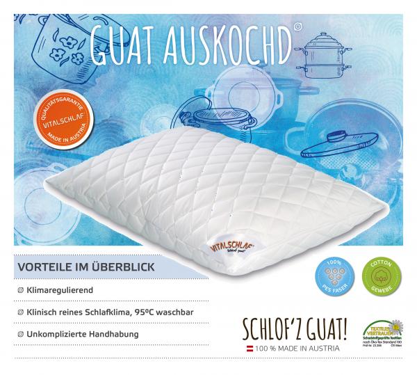 Vitalschlaf® GmbH - Guat Auskochd - Funktionsfaser. Reißverschluß: Ja. Maßgefertige Schlafsysteme und Bettwaren von Vitalschlaf: Ihre individuelle & vitale Schlafwelt aus Österreich.