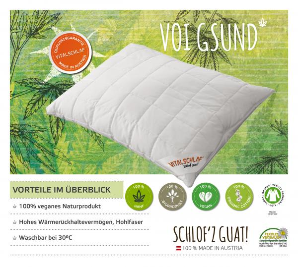 Vitalschlaf® GmbH - Voi Gsund - Naturfaser. Reißverschluß: Ja. Maßgefertige Schlafsysteme und Bettwaren von Vitalschlaf: Ihre individuelle & vitale Schlafwelt aus Österreich.