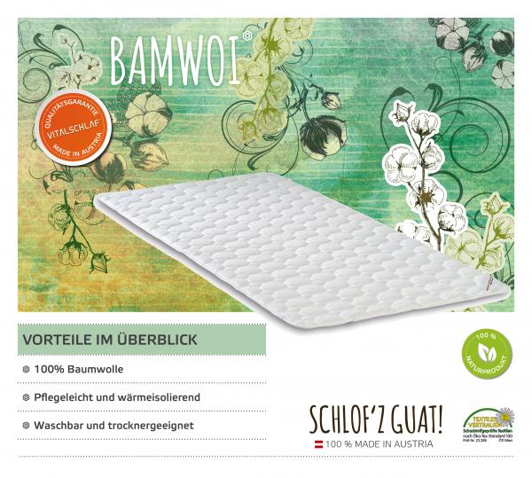 Vitalschlaf® GmbH - Bamwoi - Naturfaser. Artikel: Unterbett. Maßgefertige Schlafsysteme und Bettwaren von Vitalschlaf: Ihre individuelle & vitale Schlafwelt aus Österreich.