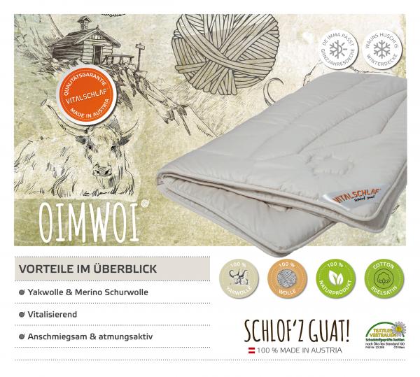 Vitalschlaf® GmbH - Oimwoi - Naturhaar. Passt immer: Passt immer - Single. Maßgefertige Schlafsysteme und Bettwaren von Vitalschlaf: Ihre individuelle & vitale Schlafwelt aus Österreich.