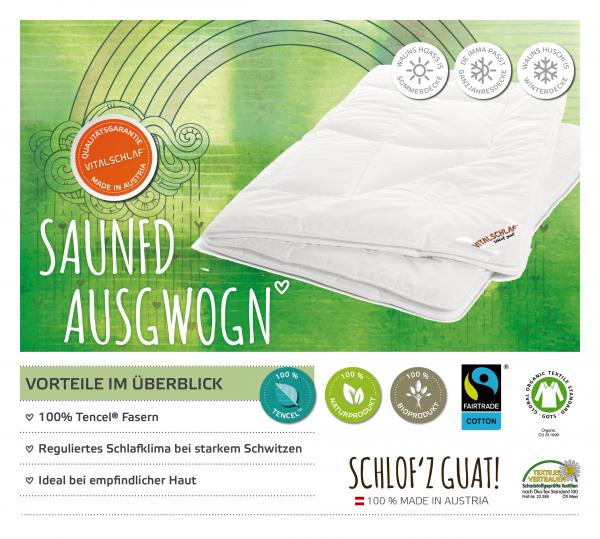Vitalschlaf® GmbH - Saunfd Ausgwogn - Naturfaser. Passt immer: Sommer - Single. Maßgefertige Schlafsysteme und Bettwaren von Vitalschlaf: Ihre individuelle & vitale Schlafwelt aus Österreich.
