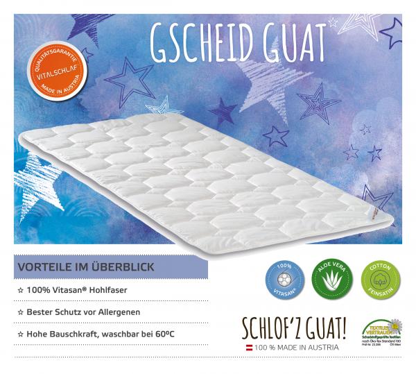 Vitalschlaf® GmbH - Gscheid Guat - Funktionsfaser. Artikel: Unterbett. Maßgefertige Schlafsysteme und Bettwaren von Vitalschlaf: Ihre individuelle & vitale Schlafwelt aus Österreich.