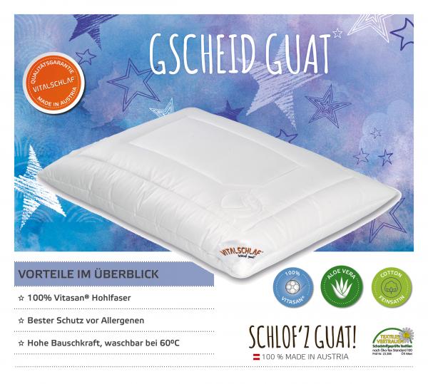 Vitalschlaf® GmbH - Gscheid Guat - Funktionsfaser. Reißverschluß: Ja. Maßgefertige Schlafsysteme und Bettwaren von Vitalschlaf: Ihre individuelle & vitale Schlafwelt aus Österreich.