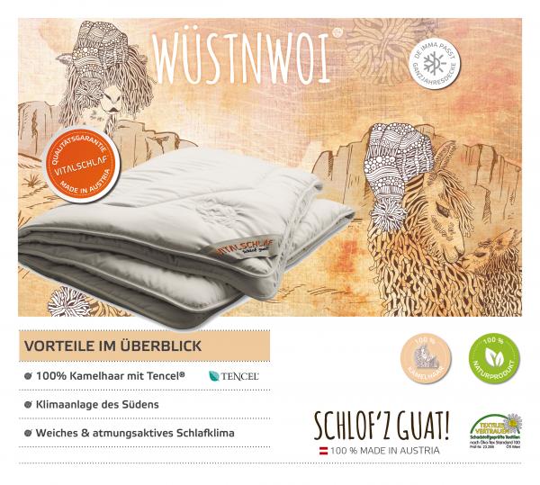 Vitalschlaf® GmbH - Wüstnwoi - Naturhaar. Winter: Passt immer - Double. Maßgefertige Schlafsysteme und Bettwaren von Vitalschlaf: Ihre individuelle & vitale Schlafwelt aus Österreich.