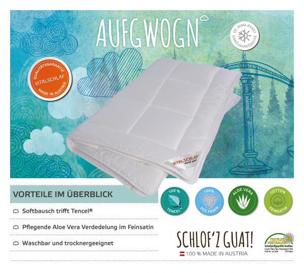 Vitalschlaf® GmbH - Aufgwogn - Funktionsfaser. Winter: Passt immer - Single. Maßgefertige Schlafsysteme und Bettwaren von Vitalschlaf: Ihre individuelle & vitale Schlafwelt aus Österreich.