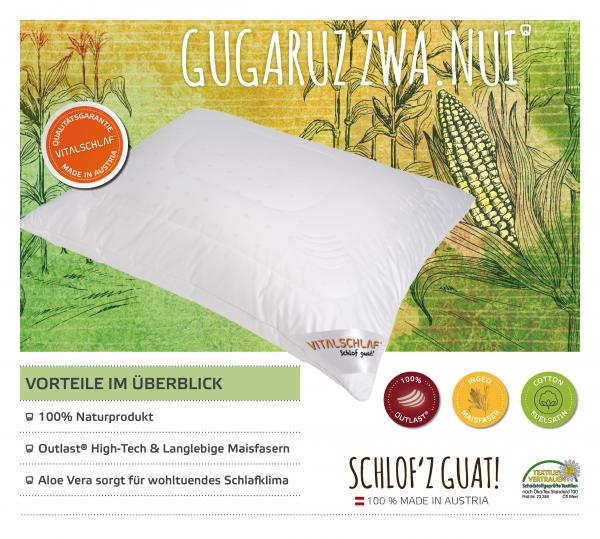 Vitalschlaf® GmbH - Gugaruz Zwa Nui - Funktionsfaser. Reißverschluß: Ja. Maßgefertige Schlafsysteme und Bettwaren von Vitalschlaf: Ihre individuelle & vitale Schlafwelt aus Österreich.