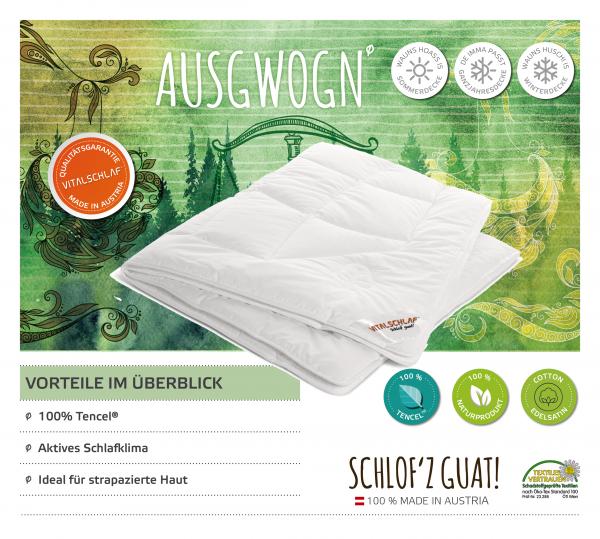 Vitalschlaf® GmbH - Ausgwogn - Naturfaser. Sommer: Sommer - Single. Maßgefertige Schlafsysteme und Bettwaren von Vitalschlaf: Ihre individuelle & vitale Schlafwelt aus Österreich.