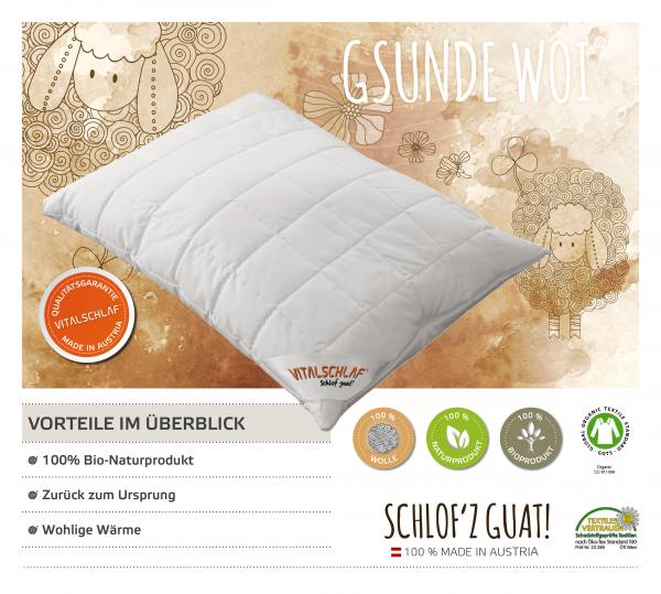 Vitalschlaf® GmbH - Gsunde Woi - Naturhaar. Reißverschluß: Ja. Maßgefertige Schlafsysteme und Bettwaren von Vitalschlaf: Ihre individuelle & vitale Schlafwelt aus Österreich.