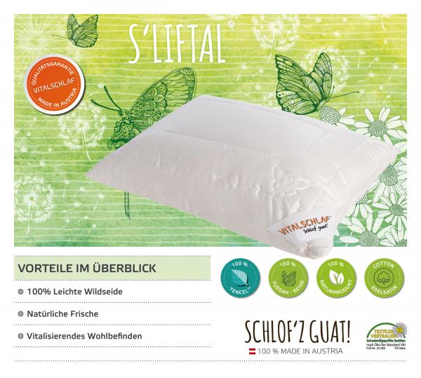 Vitalschlaf® GmbH - s'Liftal - Naturfaser. Reißverschluß: Ja. Maßgefertige Schlafsysteme und Bettwaren von Vitalschlaf: Ihre individuelle & vitale Schlafwelt aus Österreich.