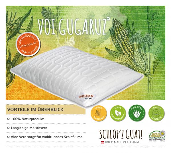Vitalschlaf® GmbH - Voi Gugaruz - Naturfaser. Reißverschluß: Ja. Maßgefertige Schlafsysteme und Bettwaren von Vitalschlaf: Ihre individuelle & vitale Schlafwelt aus Österreich.